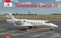 Bombardier Learjet 55 Business Jet 1/72 A-Model