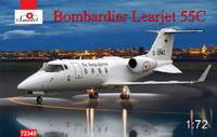 Bombardier Learjet 55C Business Jet 1/72 A-Model