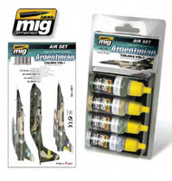 Argentinian Colors Acrylic Paint Set Ammo of Mig Jimenez