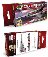 Star Defenders Sci-Fi Colors Acrylic Paint Set Ammo of Mig Jimenez