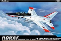 T-50 Advanced Trainer ROKAF Aircraft (Snap) 1/72 Academy