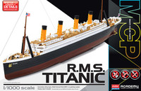RMS Titanic Ocean Liner (Snap) 1/1000 Academy