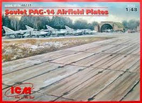 Soviet PAG14 Airfield Plates (32) 1/48 ICM Models