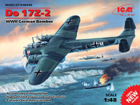 WWII German Do 17Z-2 Bomber 1/48 ICM Models