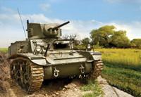 US M3A1 Stuart Tank (Snap Kit) 1/100 Zvezda