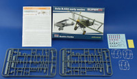 Avia B534 Early Series Aircraft Quattro Combo (Ltd Edition Plastic Kit) 1/144 Eduard