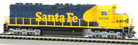 EMD SD45 Diesel Locomotive DCC Sound Equipped Santa Fe #5320 N Scale Bachmann Trains