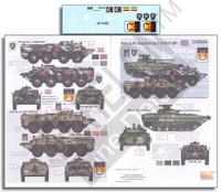Novorossian AFVs Ukraine-Russia Crisis Pt.8 BTR80 & BMP2 1/35 Echelon