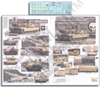 1-64th Armored Regiment M1A2 SEP V2 Abrams 1/35 Echelon