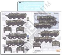 Ukraine AFVs Ukraine-Russia Crisis Pt.5 BTR-80 1/35 Echelon