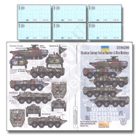 Ukraine Common Tactical Numbers & Other Markings 1/35 Echelon