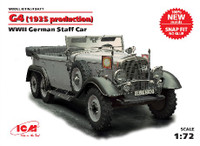 WWII German G4 1935 Production Staff Car (Snap) 1/72 ICM Models