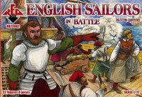 English Sailors in Battle XVI-XVII Century (32) 1/72 Red Box Figures