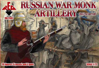 Russian War Monk Artillery XVI-XVII Century (20) 1/72 Red Box Figures