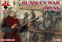 Russian War Monk XVI-XVII Century (40) 1/72 Red Box Figures