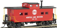 Northeast Steel Caboose Norfolk & Western #500825 HO Scale Bachmann Trains