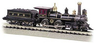 4-4-0 American Steam Locomotive w/Coal Load DCC Ready Pennsylvania HO Scale Bachmann Trains