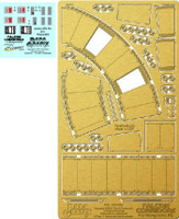 DeAgostini Millennium Falcon Corridors Photo-Etch & Decal Set 1/43 Paragrafix