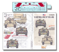 US Army M1A1s & M1A2 SEP Tusk Iraq 1/35 Echelon