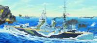 HMS Rodney British Battleship 1/200 Trumpeter
