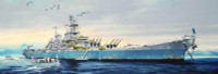 "USS ""Big Mo"" Missouri Battleship 1/200 Trumpeter"