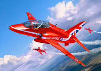 BAe Hawk T1 Red Arrows RAF Aircraft 1/72 Revell Germany