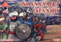 Osman Eyalet Infantry XVI-XVII Century (34) 1/72 Red Box Figures