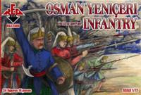 Osman Yeniceri Infantry XVI-XVII Century (34) 1/72 Red Box Figures