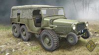 W15T 6x6 WWII French Artillery Tractor 1/72 Ace Models