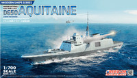 D650 Aquitaine Fremm Multi-Purpose Frigate 1/700 Freedom Model Kits