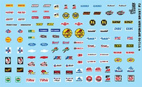 Manufacturer Sponsor Logos #3 1/24-1/25 Gofer Decals