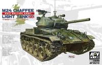 WWII M24 Chaffee British Army Tank 1/35 AFV Club