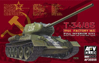 T34/85 Mod 1944 Factory No.183 Tank 1/35 AFV Club