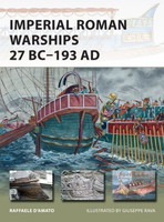 Vanguard: Imperial Roman Warships 27BC-193AD Osprey Books