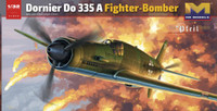 Dornier Do 335A Fighter Bomber w/2 Resin Figures 1/32 HK Models
