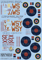 Avro Lancaster B I Johnny Walker Still Going Strong, Getting Younger Every Day, SE-X Devil 1/144 Kitsworld Decals