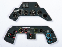 Fw 190A Early Instrument Panel for HAS 1/48 Yahu Model
