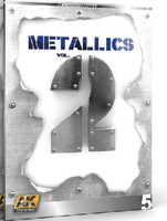 Metallics Vol.2 Learning Series Book AK Interactive