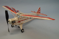 "30"" Wingspan Piper Clip Wing Cub Rubber Pwd Aircraft Laser Cut Kit Dumas"