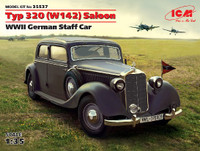 WWII German Type 320 (W142) Saloon Staff Car 1/35 ICM Models