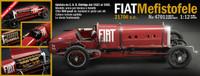 Fiat Mefistofele 21706cc Race Car 1/12 Italeri