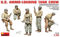 US Ammo-Loading Tank Crew (5) 1/35 Miniart