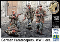 WWII German Paratroopers (4) 1/35 Masterbox