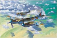DeHavilland Hornet F3 Fighter 1/48 Trumpeter