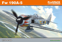 Fw 190A-5 WWII German Figher (Profi-Pack Plastic Kit) 1/72 Eduard