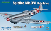 Spitfire Mk XVI Bubbletop Fighter (Wkd Edition Plastic Kit) 1/48 Eduard