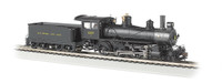 "HO 4-6-0 Baldwin 52"" Driver Steam Locomotive DCC Ready Baltimore & Ohio #1357 HO Scale Bachmann"