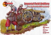 1st Half XVII Century Imperial Field Artillery (24 w/4 Guns) 1/72 Mars Figures