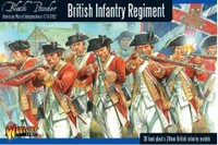 Black Powder: British Infantry Regiment 1776-1783 (30) (Plastic) 28mm Warlord Games