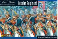 Black Powder: Hessian Regiment 1776-1783 (30) (Plastic) 28mm Warlord Games